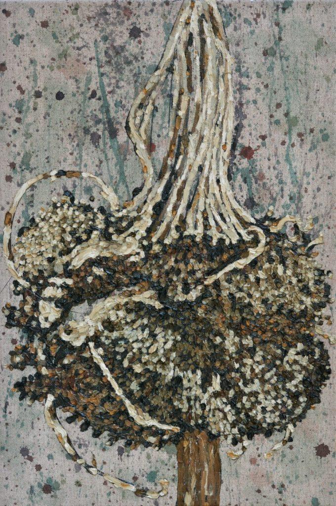 Hangende zonnebloem verdord, 40-60 cm