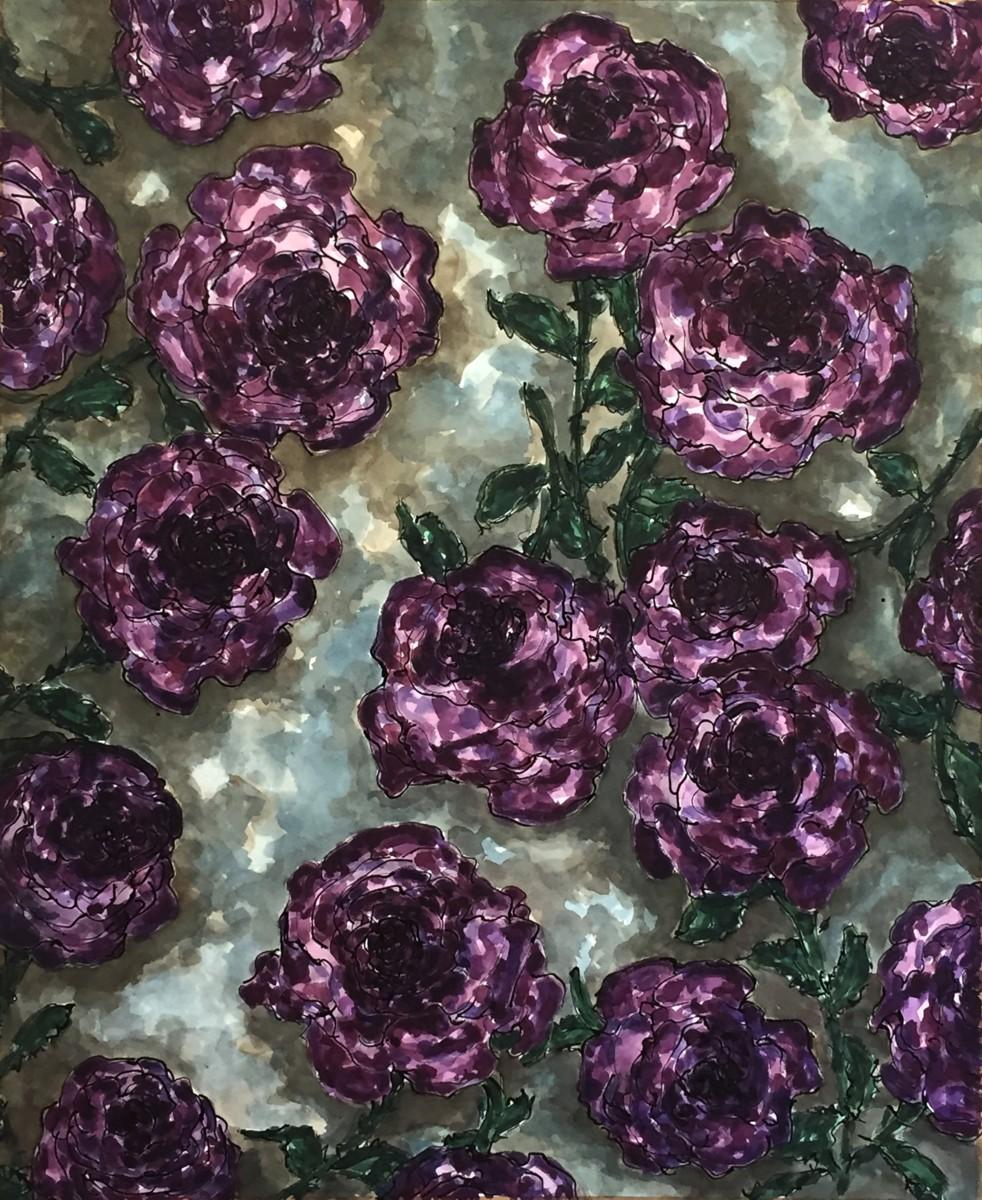 Rozen paars 75-125 cm