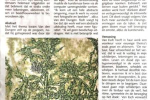 Interview, mooi Schijndel krant.