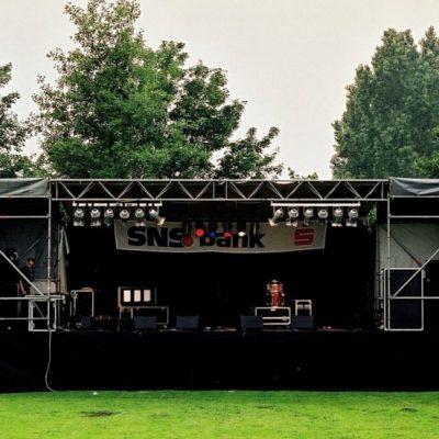 1Ander festival 2 podiumdoeken Amaryllis & Orchidee