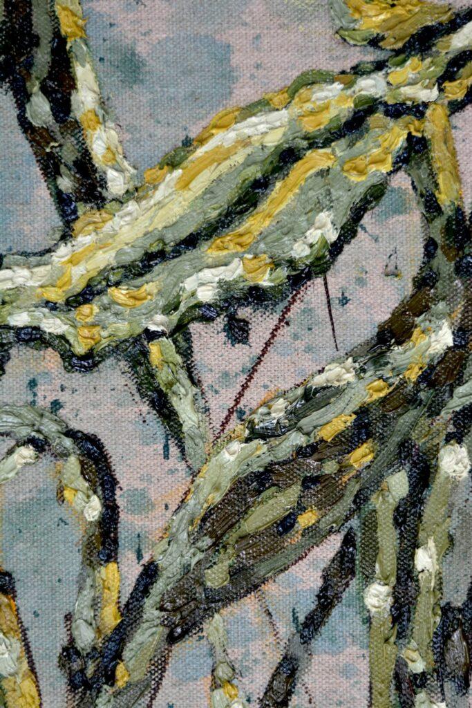 Detail gele mais